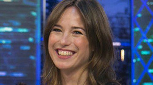 Marta Etura desvela el nombre de su hija en 'El Hormiguero'