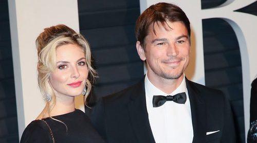 Josh Hartnett y Tamsin Egerton esperan su segundo hijo