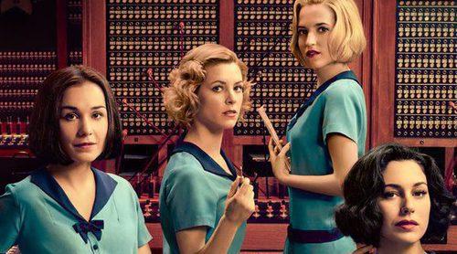 Póster y nuevas imágenes de 'Las chicas del cable', la primera serie española de Netflix