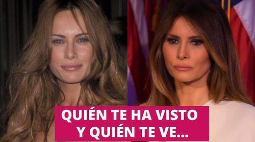 Así ha cambiado Melania Trump: La modelo eslovena que se convirtió en Primera Dama de Estados Unidos
