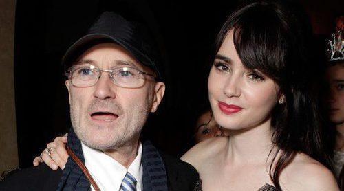 Lily Collins sobre su padre Phil Collins: 'Te perdono por no estar siempre ahí'