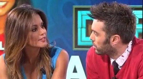 Lara Álvarez tontea con Dani Martínez en 'Dani y Flo' y confirma su vuelta a 'Supervivientes'