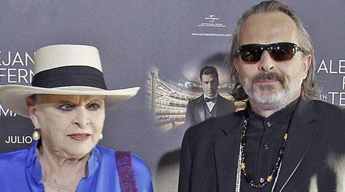 Miguel Bosé, muy enfadado con su madre Lucía Bosé por su entrevista en 'Sálvame Deluxe'