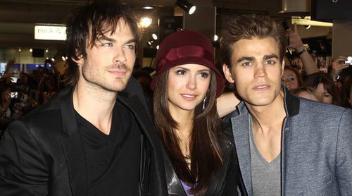 Nina Dobrev y el elenco de 'The Vampire Diaries' se despiden en las redes sociales