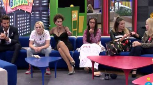 Daniela, Marco y Alyson son los últimos nominados y Elettra, Irma y Emma son las primeras finalistas