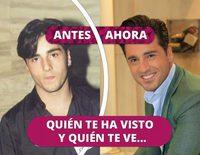 Así ha cambiado David Bustamante: De albañil a cantante tras su paso por 'Operación Triunfo'