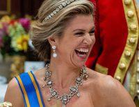 Máxima de Holanda consigue brillar por encima de Juliana Awada en el Palacio Real de Ámsterdam