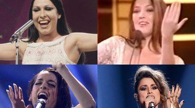 Cantantes que se convirtieron en estrellas tras representar a España en Eurovisión