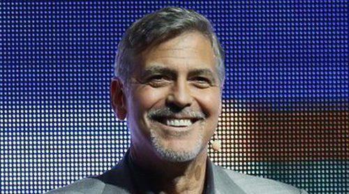 George Clooney bromea sobre ponerle a sus gemelos el nombre de su marca de tequila