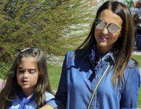 Paula Echevarría se divierte de paseo con Daniella y su mascota sin David Bustamante