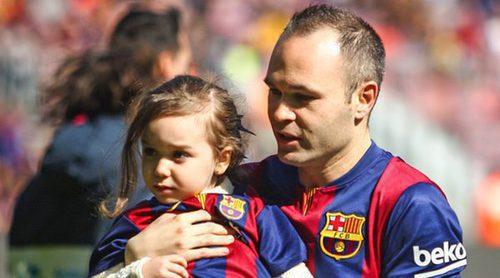 Andrés Iniesta y Anna Ortiz se ponen tiernos para felicitar a su princesa Valeria por su cumpleaños