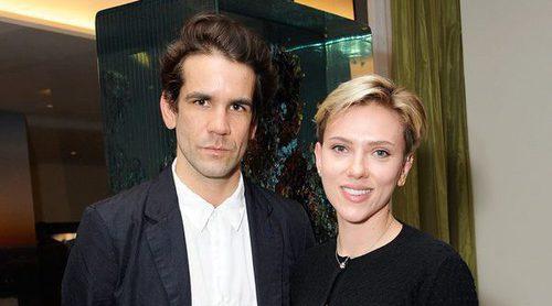 Scarlett Johansson y Romain Dauriac posan juntos de nuevo tras su separación