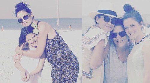 Katie Holmes se divierte junto a su hija Suri Cruise durante las vacaciones de Pascua