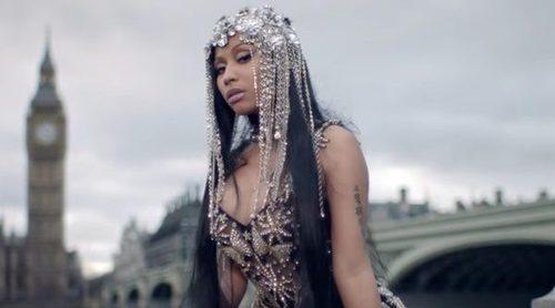 Lluvia de críticas a Nicki Minaj por rodar su nuevo videoclip en el puente de Westminster tras el atentado