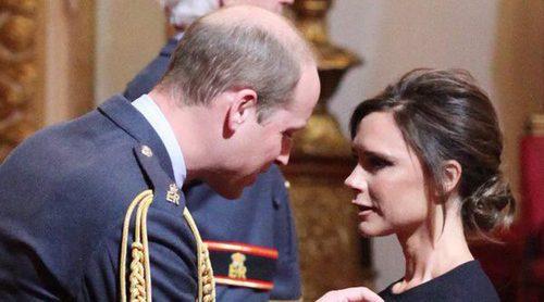 Victoria Beckham ha sido condecorada con la Orden del Imperio Británico por el Príncipe Guillermo
