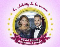 David Bisbal, la celebrity de la semana por abandonar la soltería gracias a Rosanna Zanetti