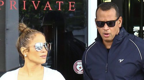 Jennifer Lopez y Alex Rodriguez disfrutan de su amor hasta en el gimnasio