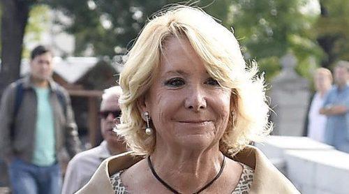 Esperanza Aguirre presenta su dimisión tras el caso de corrupción de Ignacio González
