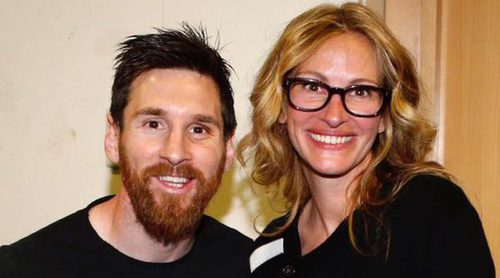 Julia Roberts, del Barça y del Madrid: toda una fan de Messi, Cristiano Ronaldo, Sergio Ramos y Zidane