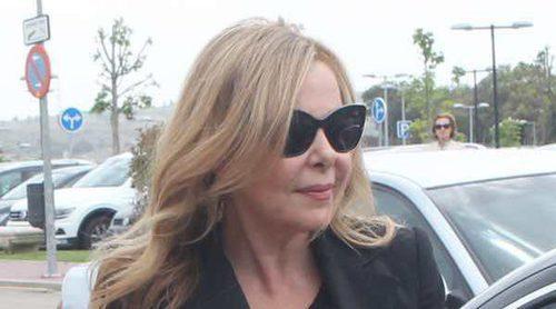 Ortega Cano, Norma Duval, Elena Tablada y José Fernando acuden al funeral de Palomo Linares
