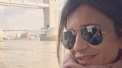 El bonito y familiar viaje de Gema López a Londres