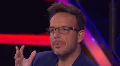 El zasca de Ángel Llàcer a 'La Voz Kids': 'David Bisbal nos puede ver, que lo suyo está grabado'