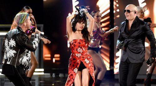 La impecable puesta en escena de Camila Cabello junto a J Balvin y Pitbull en los MTV Movie Awards 2017