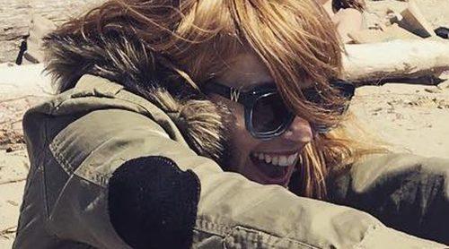 Luisana Lopilato vuelve a sonreír y vuelve a la normalidad tras la recuperación de su hijo Noah
