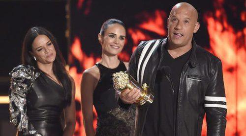 Un emocionado Vin Diesel recuerda a su amigo y compañero Paul Walker en los MTV Movie Awards 2017