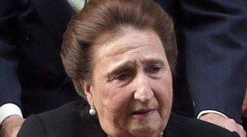 Los Reyes Juan Carlos y Sofía entierran sus diferencias para homenajear a la Infanta Margarita