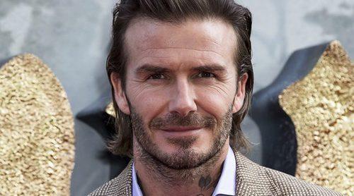 David Beckham debuta como actor en la película 'Rey Arturo: La leyenda de Excalibur'