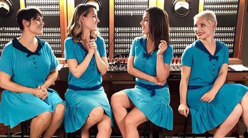 Netflix parodia a 'Las chicas del cable' con Edurne, Rosa, Ruth Lorenzo y Soraya como chicas del televoto