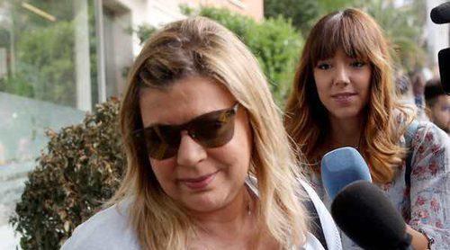 Carmen Borrego y Terelu Campos, máxima preocupación por la salud de María Teresa Campos