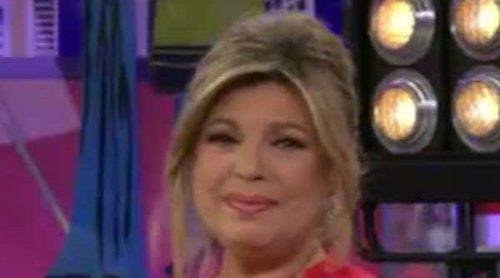 Terelu Campos rompe a llorar en su vuelta a 'Sálvame' tras el ictus de María Teresa Campos