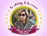 María Teresa Campos se convierte en la celebrity de la semana tras su ingreso por una isquemia cerebral