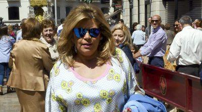 Terelu Campos, muy enfadada por la visita de la amiga de su madre a 'Sálvame'
