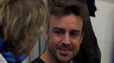 Fernando Alonso presume de gran amistad con su ex Raquel del Rosario: 'Hablamos todas las semanas'