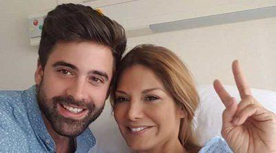 Sergio Ayala, el mejor apoyo de Ivonne Reyes tras su operación