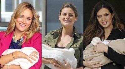 Alba Carrillo, Amaia Salamanca, Sara Carbonero y otras famosas que fueron madres antes de cumplir 30 años