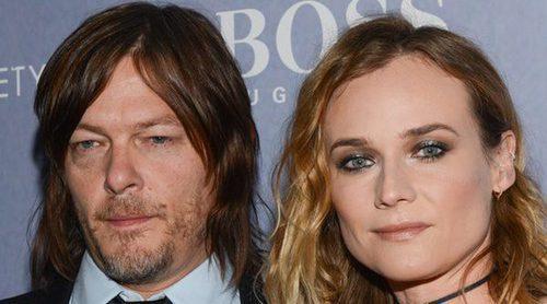 Diane Kruger y Norman Reedus derrochan amor tras confirmar su relación