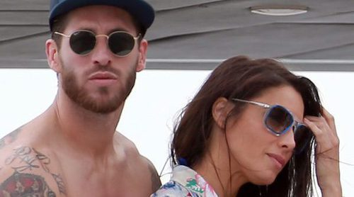 Sergio Ramos y Pilar Rubio disfrutan de Ibiza con Lucas Vázquez, Modric y el resto de WAGs