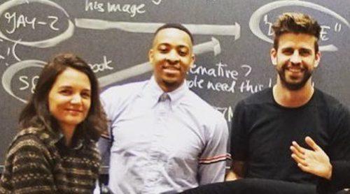 Gerard Piqué y Katie Holmes se convierten en compañeros de clase en la Universidad de Harvard