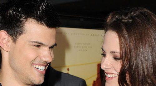 El emotivo reencuentro de 'Crepúsculo' protagonizado por Kristen Stewart y Taylor Lautner