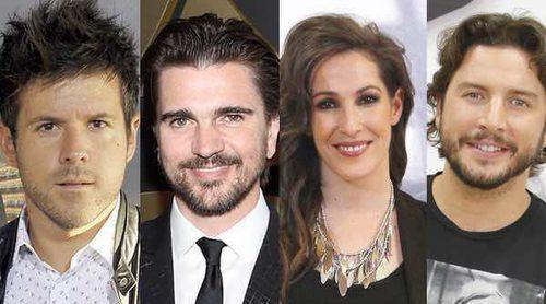 Juanes, Pablo López, Malú y Manuel Carrasco serán los coaches de 'La Voz 5'