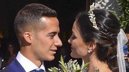 La discreta boda de Lucas Vázquez y Macarena Rodríguez en Madrid