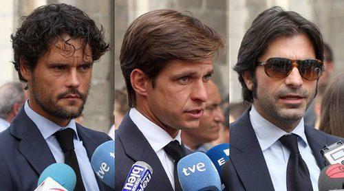 Javier Conde, Enrique Ponce o Espartaco se despiden de Iván Fandiño en un emotivo funeral