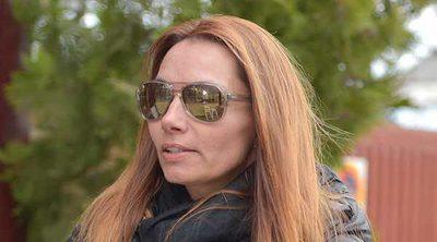 Lorena, cabizbaja y preocupada tras la sentencia del juicio de Belén Esteban contra Toño Sanchís