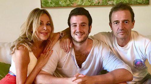 Ana Obregón y Alessandro Lequio celebran en amor y compañía los 25 años de su hijo Álex