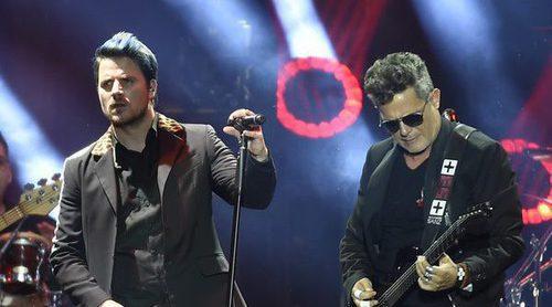 Malú, Juanes, Bisbal, Miguel Bosé... se suben al escenario de 'Más es Más' con Alejandro Sanz