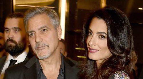 Los gemelos de Amal Alamuddin y George Clooney son